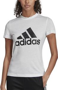 Bluzka Adidas z okrągłym dekoltem w sportowym stylu