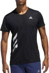 T-shirt Adidas z nadrukiem z krótkim rękawem
