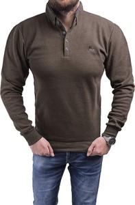 Brązowa bluza Risardi w stylu casual
