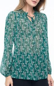 Bluzka POTIS & VERSO z dekoltem w kształcie litery v w stylu casual