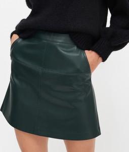Turkusowa spódnica Reserved mini