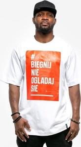 T-shirt Pihszou z żakardu z krótkim rękawem