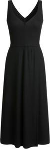 Czarna sukienka RISK made in warsaw gorsetowa