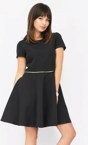 Czarna sukienka Piu mini