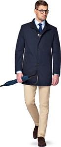 Płaszcz męski LANCERTO w stylu casual