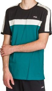 T-shirt Fila w sportowym stylu z bawełny