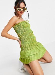 Sukienka Asos baskinka na ramiączkach w stylu casual