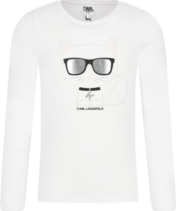 Bluzka dziecięca Karl Lagerfeld