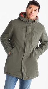 Zielona kurtka ANGELO LITRICO z bawełny