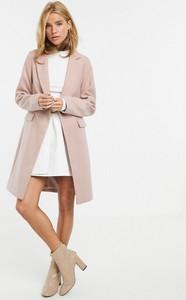 Różowy płaszcz New Look
