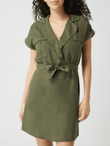 Zielona sukienka Noisy May z dekoltem w kształcie litery v w stylu casual