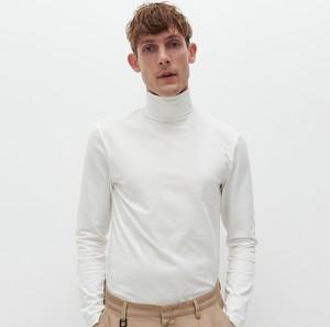 T-shirt Reserved z długim rękawem