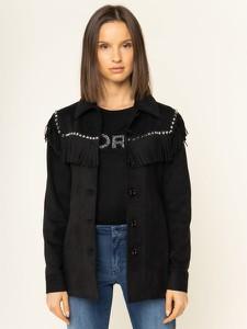 Czarna kurtka Liu-Jo w stylu casual