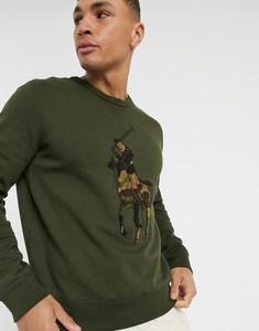 Bluza POLO RALPH LAUREN w militarnym stylu