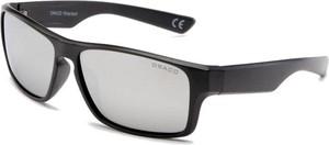 Draco Męskie okulary srebrne szkła polaryzacja drs-68c6