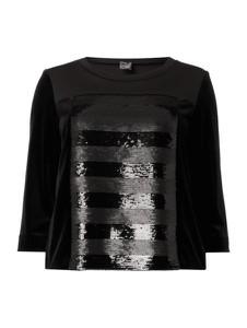 Czarna bluza Persona by Marina Rinaldi z dresówki