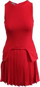 Sukienka Alexander Mcqueen Pre-owned mini z jedwabiu bez rękawów