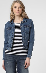 Niebieska kurtka Only z jeansu krótka w młodzieżowym stylu