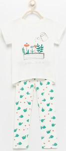 Piżama Reserved z bawełny dla dziewczynek