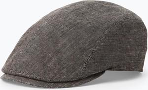 Brązowa czapka Göttmann z lnu