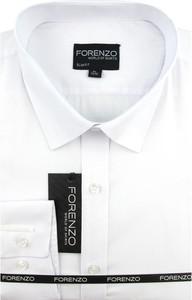 Koszula Forenzo z bawełny z klasycznym kołnierzykiem