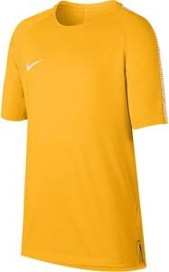 Pomarańczowa koszulka dziecięca Nike Football