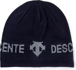 Granatowa czapka Descente