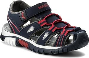 Czarne buty dziecięce letnie walky
