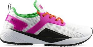 Buty sportowe 4fsklep.pl w sportowym stylu z płaską podeszwą sznurowane