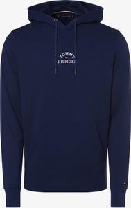 Niebieska bluza Tommy Hilfiger z bawełny