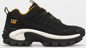 Czarne buty sportowe Caterpillar z nubuku