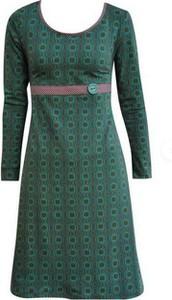 Zielona sukienka Cikelly z okrągłym dekoltem mini w stylu casual