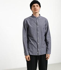 Niebieska koszula Element z długim rękawem