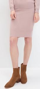Różowa spódnica Mohito midi