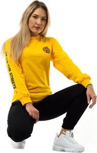 Żółta bluzka Lakai z bawełny