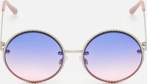 Fioletowe okulary damskie Cropp