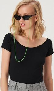 Czarna bluzka Sinsay w stylu casual