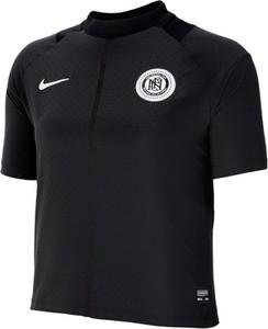 Czarny t-shirt Nike z krótkim rękawem w sportowym stylu