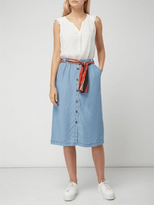 Spódnica S.Oliver Red Label z tkaniny w stylu casual midi