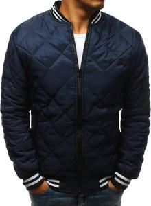 23fc5c6b3c28c Niebieska kurtka Dstreet w stylu casual