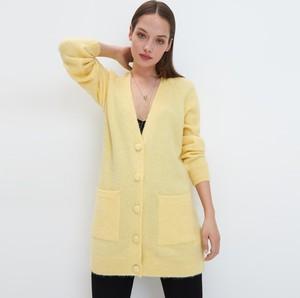 Żółty sweter Mohito w stylu casual