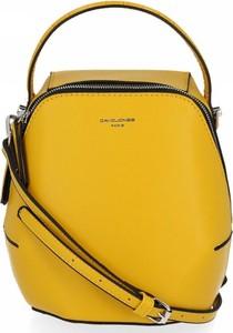 Żółta torebka David Jones