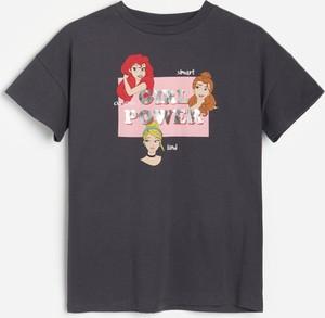Koszulka dziecięca Reserved dla dziewczynek z krótkim rękawem