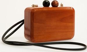Brązowa torebka Reserved mała do ręki