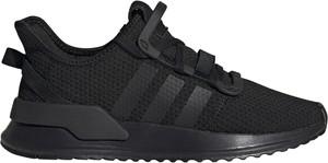 Buty sportowe Adidas sznurowane z płaską podeszwą w sportowym stylu