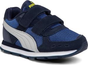 Buty sportowe dziecięce Puma ze skóry