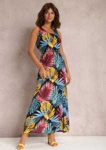 Sukienka Renee maxi trapezowa w stylu casual