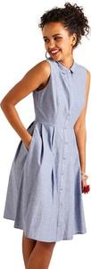 Sukienka Yumi bez rękawów z bawełny