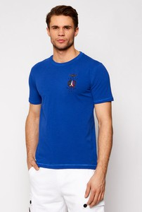 Niebieski t-shirt Aeronautica Militare