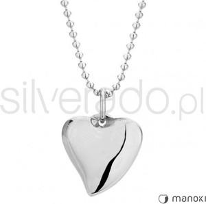 2775ef17b906 Silverado delikatny naszyjnik ze stali szlachetnej z zawieszką w kształcie  serca 77-wa250s